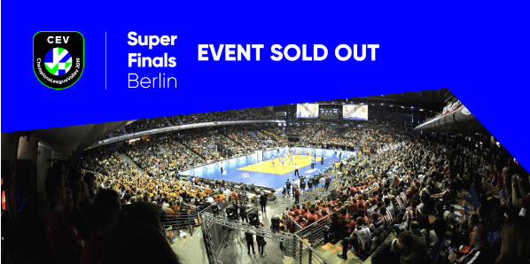 Volleyball Champions League Volley Super Finals in Berlin