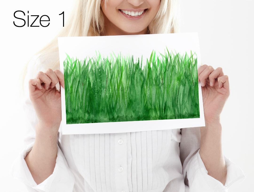 Gewaltig Wandtattoo Gras Ideen Von Easysweethome Für Nahtlose Endlosbordüre Wandtattoo, Möbelaufkleber, Fliesenaufkleber
