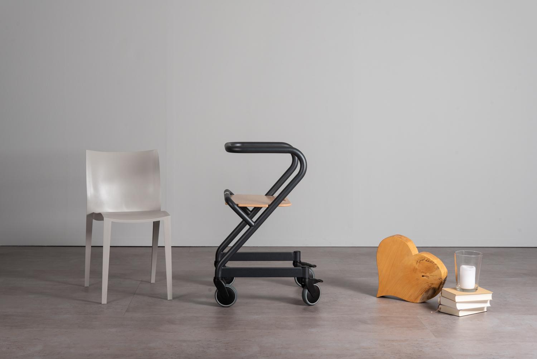 Saljol GmbH Wohnraum- oder Indoor- Rollator und fahrbarer Handlauf ...