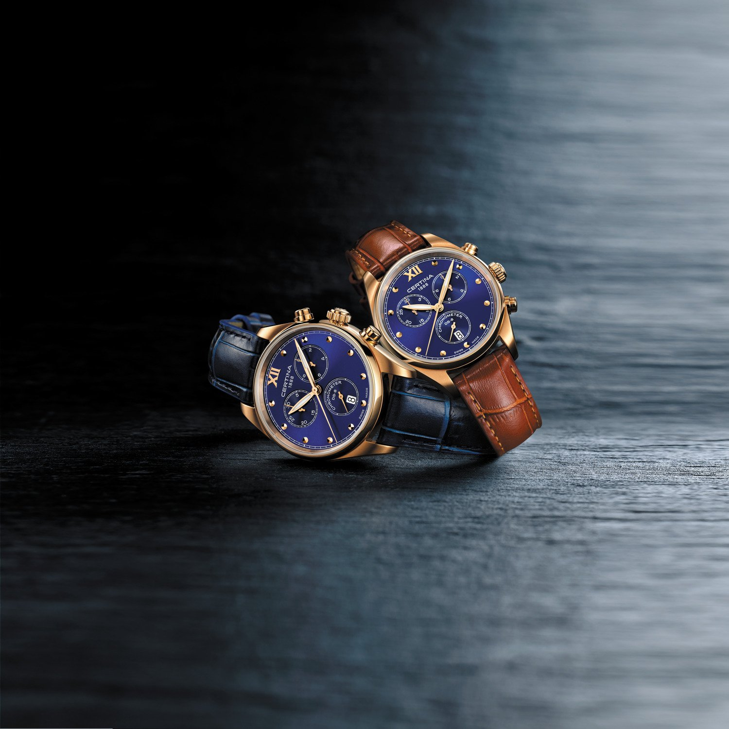 DS-8 Lady Chronograph: True Blue