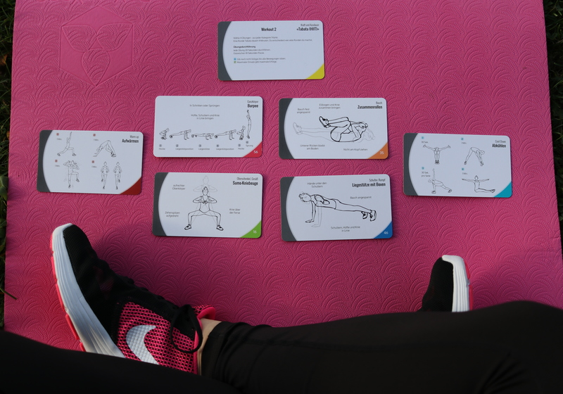 Bodyweight Training Cards