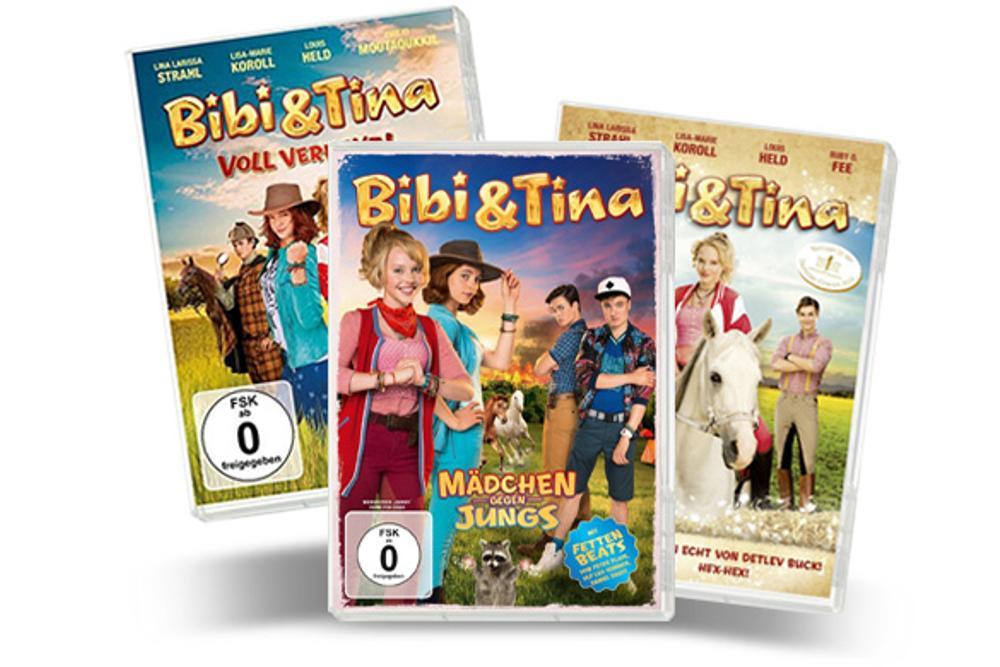 Dvd Bibi Und Tina 3