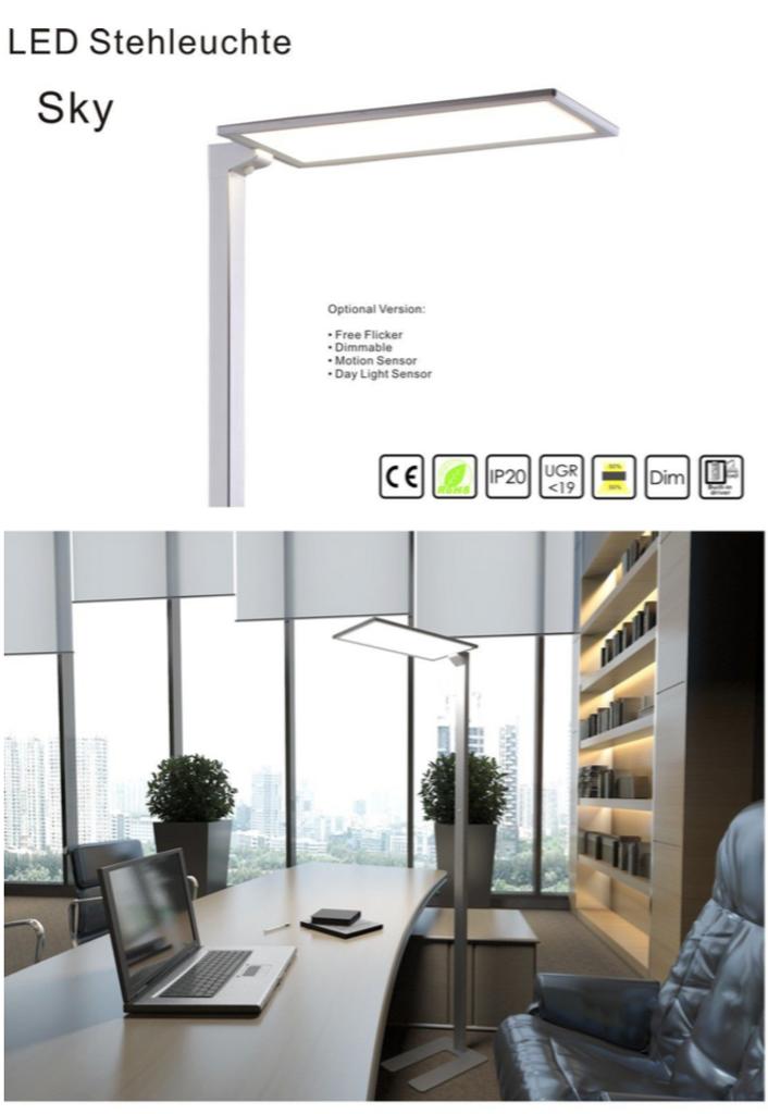 led b ro stehleuchte ledowo ihr lichtshop. Black Bedroom Furniture Sets. Home Design Ideas