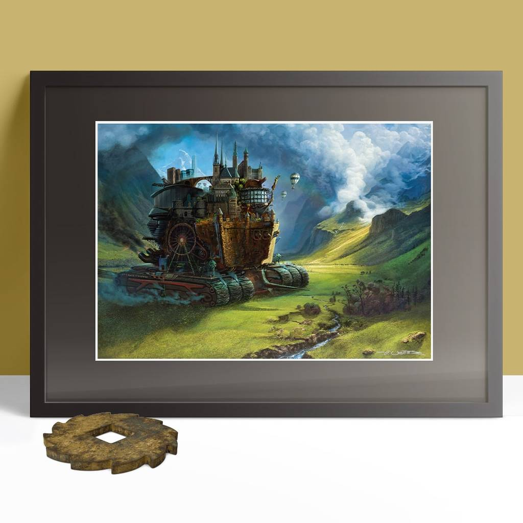 Immmortal Engine Print framed