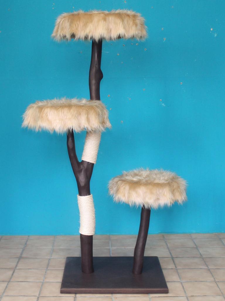 kratzbaum naturholz 160 cm naturkratzbaum 0663 diworo. Black Bedroom Furniture Sets. Home Design Ideas