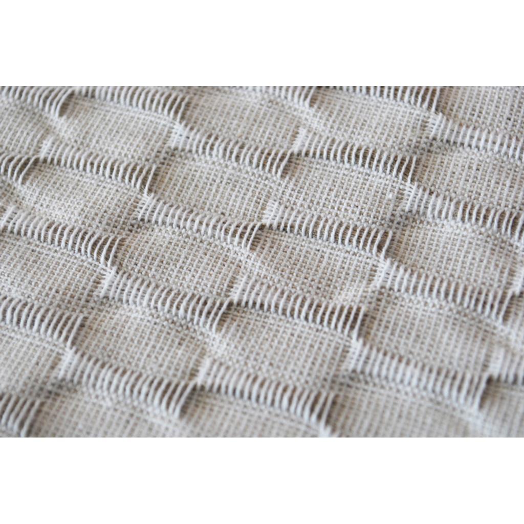 tischdecke aus leinen baumwolle in beige 140x140. Black Bedroom Furniture Sets. Home Design Ideas