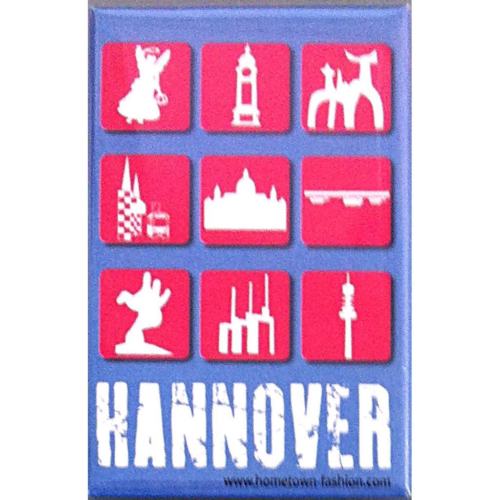 Hometown hannover magnet 3x3 hannover hometown hannover for Souvenir shop hannover