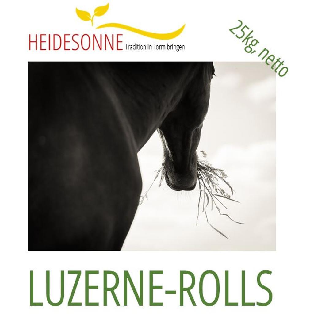Beliebt Bevorzugt Heidesonne LUZERNE-ROLLS 25 kg - Tiernahrung kaufen - heidesonne #VU_22