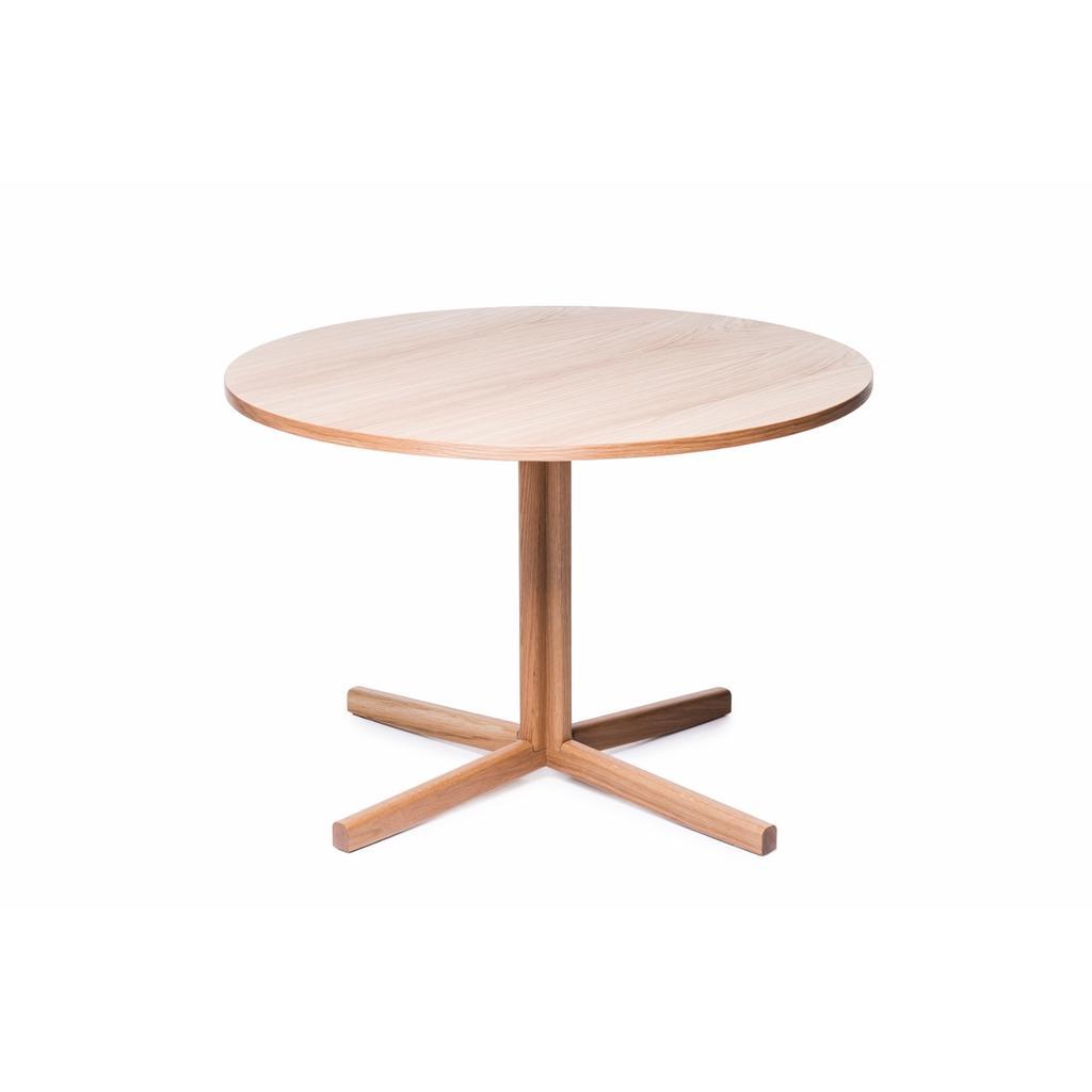 Runder tisch aus massivholz 110 cm hiis design for Esszimmer runder tisch