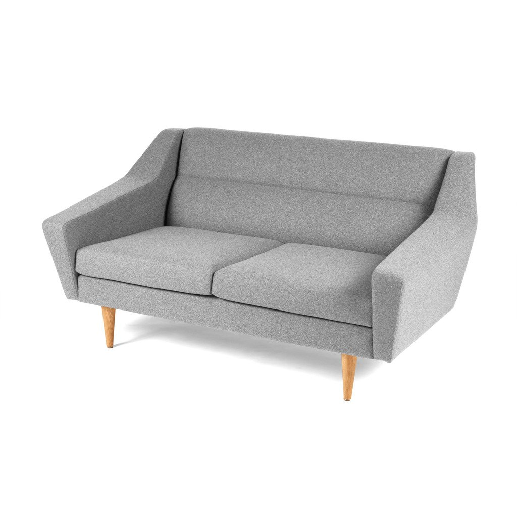 2er-Couch skandinavisches Design