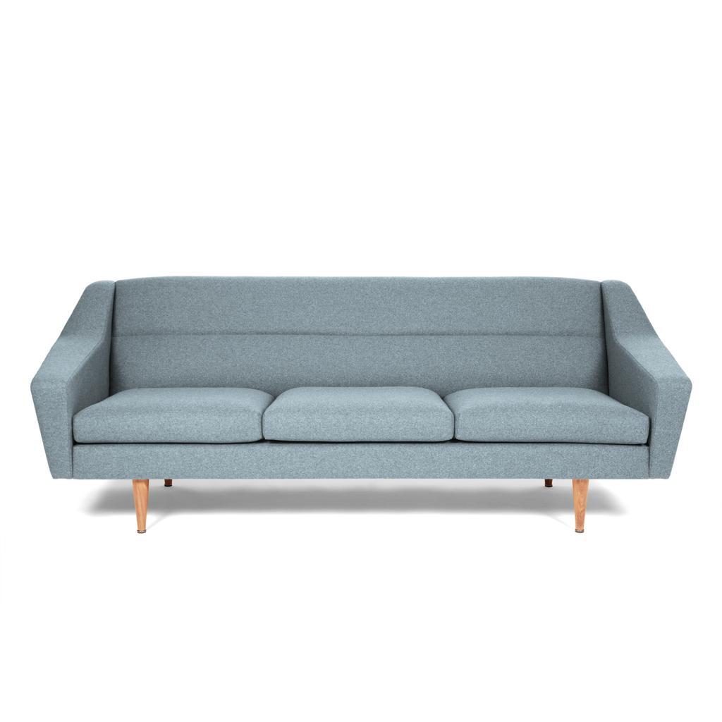 Bezaubernd Couch Hellblau Galerie Von 3-sitzer Sofa Skandinavisch · 3er