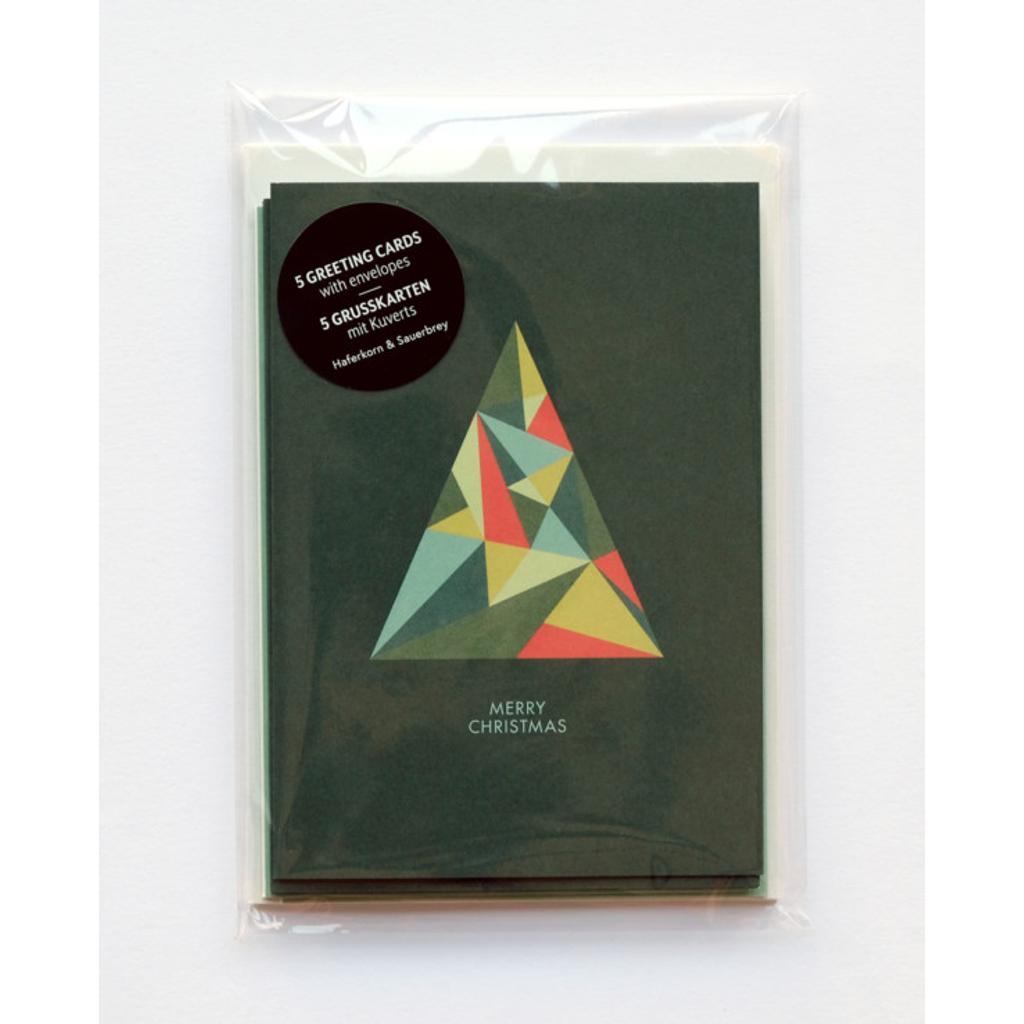 Weihnachtsgeschenke Für Kunden Günstig.Weihnachtskarte Crystal Tree