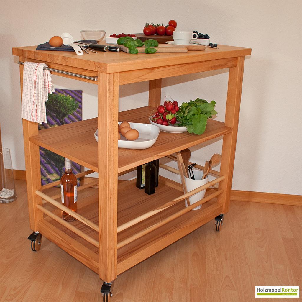 beautiful k chenwagen aus holz contemporary home design. Black Bedroom Furniture Sets. Home Design Ideas