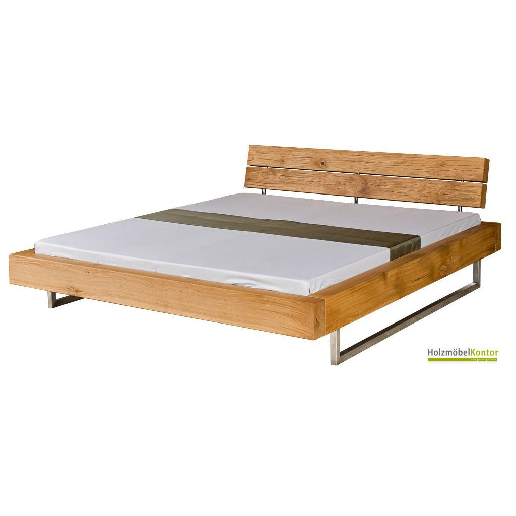 design bett eiche 140x200cm. Black Bedroom Furniture Sets. Home Design Ideas
