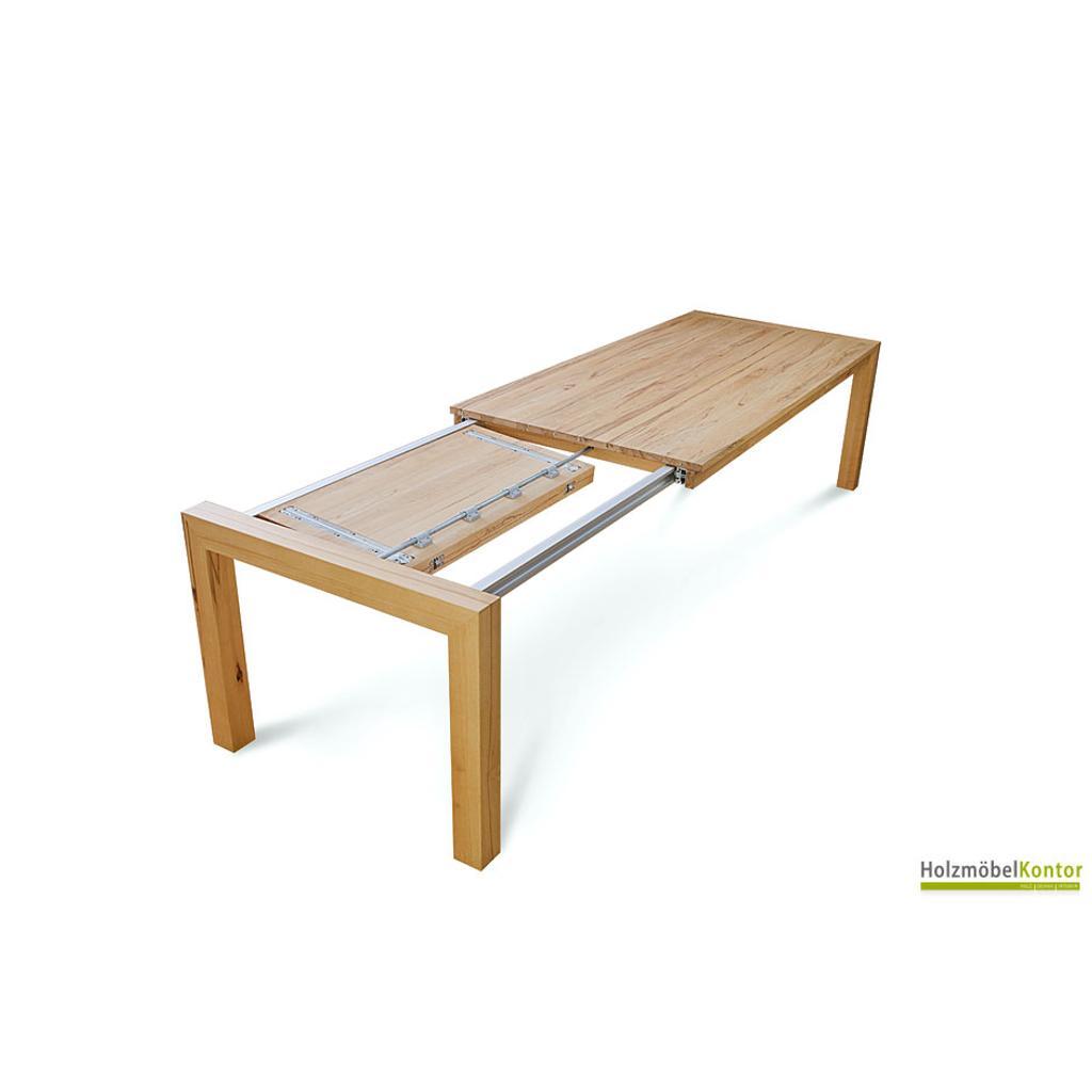 auszugstisch zoom massivholztisch f r viele g ste. Black Bedroom Furniture Sets. Home Design Ideas