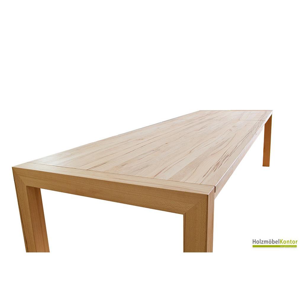 Auszugstisch zoom massivholztisch f r viele g ste for Massivholz tische zum ausziehen