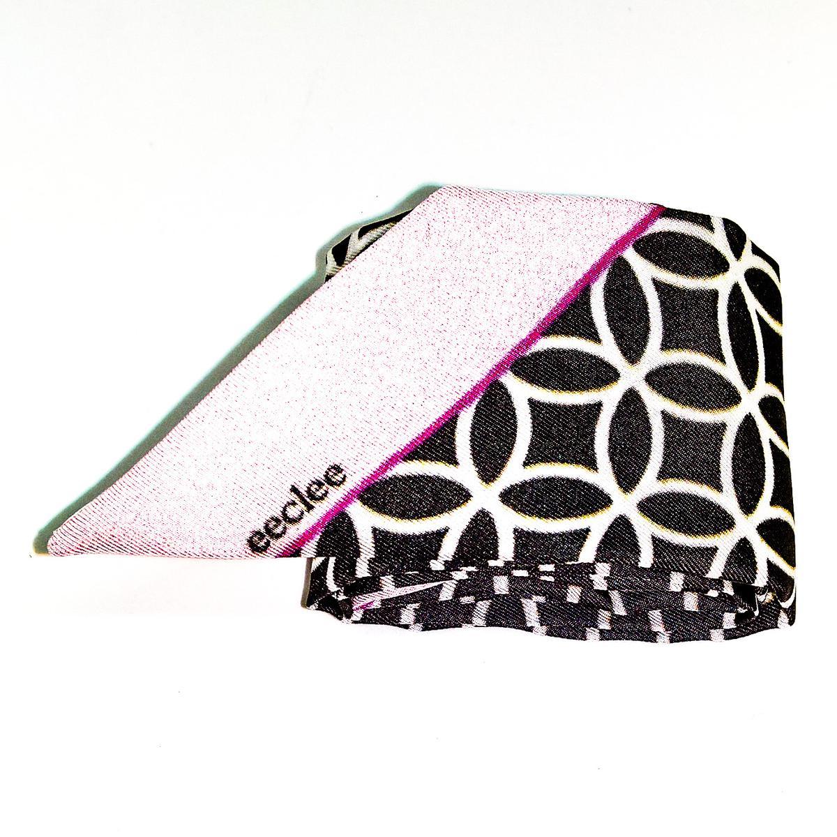 eeclee eeclee estelle ros schwarz wei pink seidenb nder kaufen eeclee. Black Bedroom Furniture Sets. Home Design Ideas