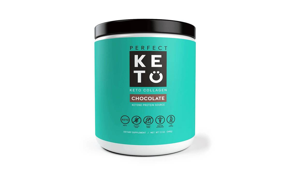 perfect KETO Collagen Pulver | Chocolate