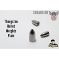 Tungsten Bullet Weights Plain