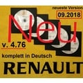 Renault Dacia Dialogys 09/2018 Applikation Programm 7.5.6 Version 4.76 komplett in Deutsch