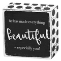 He has made everything beautiful - especially you! Art Box