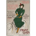 Advertising poster 1910 Sport- und Radler Costumes