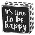 It's time to be happy Art Box