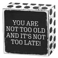 You are not too old and it's not too late! Art Box