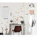 Konfetti Mini Dots Mix 130 Stk. Wandsticker Punkte
