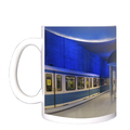 U-Bahn-Tasse, Ubahn München, U-Bahnhof Westfriedhof, Bayerns Landeshauptstadt München, Kaffeetasse, Lieblingstasse, tom baecker, a-point-of-view, Georg-Brauchle-Ring, Moosach, Gern, Haltestelle, Münchner U-Bahn