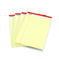 Kleines Yellow Pad mit Klebebindung / Small legal pad