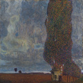 GUSTAV KLIMT: The Great Poplar II Upcoming Thunderstorm