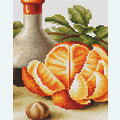 Still Life with Oranges - kruissteekpakket met telpatroon Luca-S
