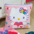 Hello Kitty - Shower of Hearts - Vervaco Kruissteekkussen