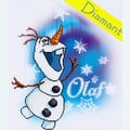 Olaf Frozen - Disney - Diamond Painting pakket - Vervaco