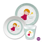Kindergeschirr Set Fee mint