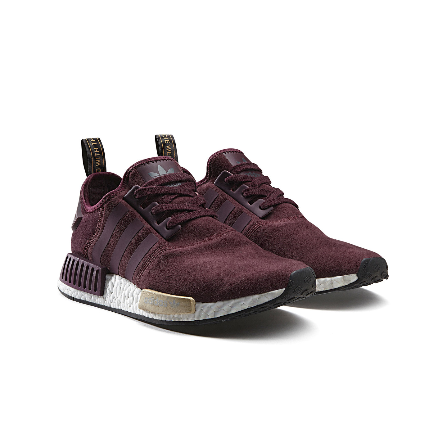 adidas nmd r1 runner w 39 details pack 39 maroon gold s75231 139 95 inkl mwst. Black Bedroom Furniture Sets. Home Design Ideas