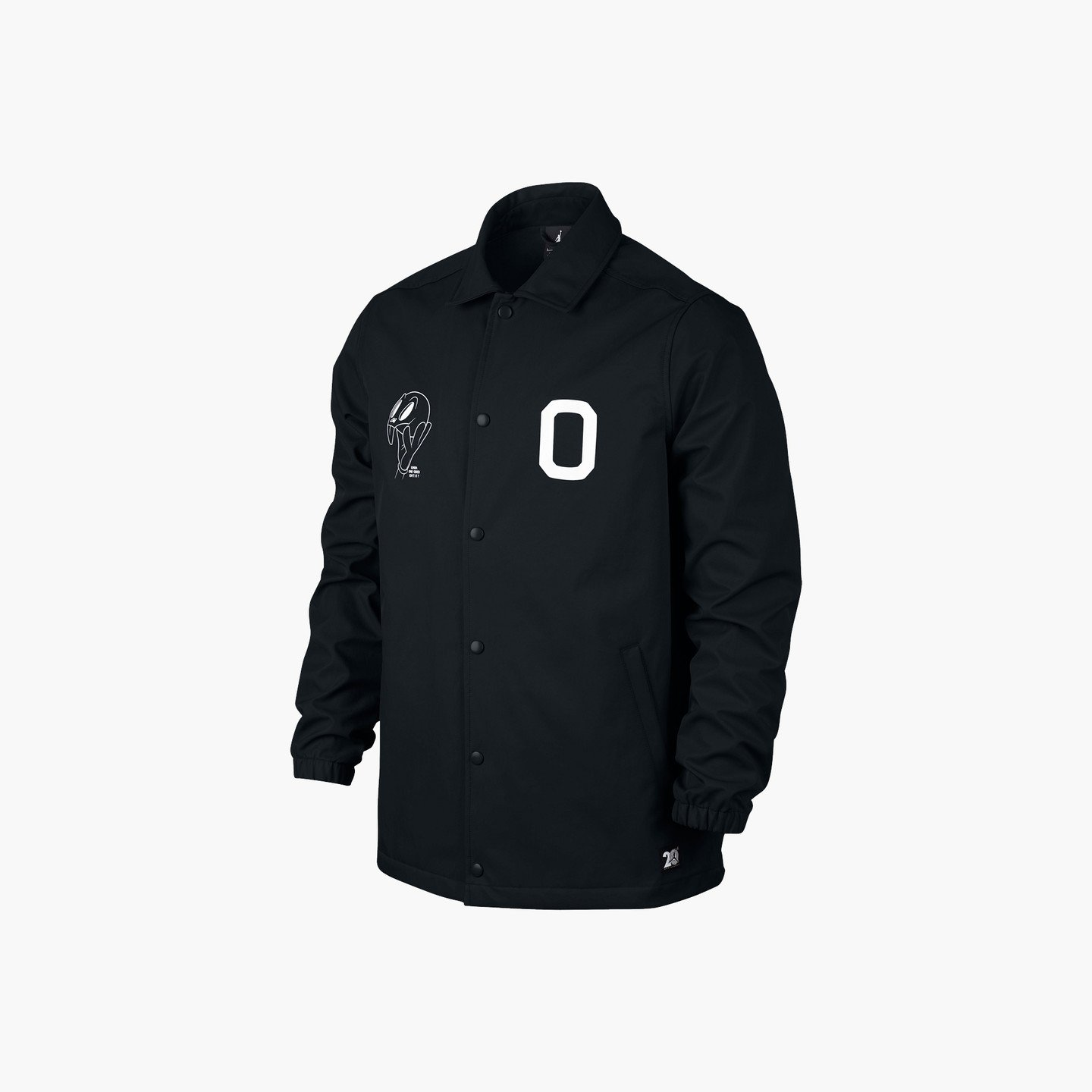 Jordan Air Jordan 11 Coach Jacket Black / White 819119-010