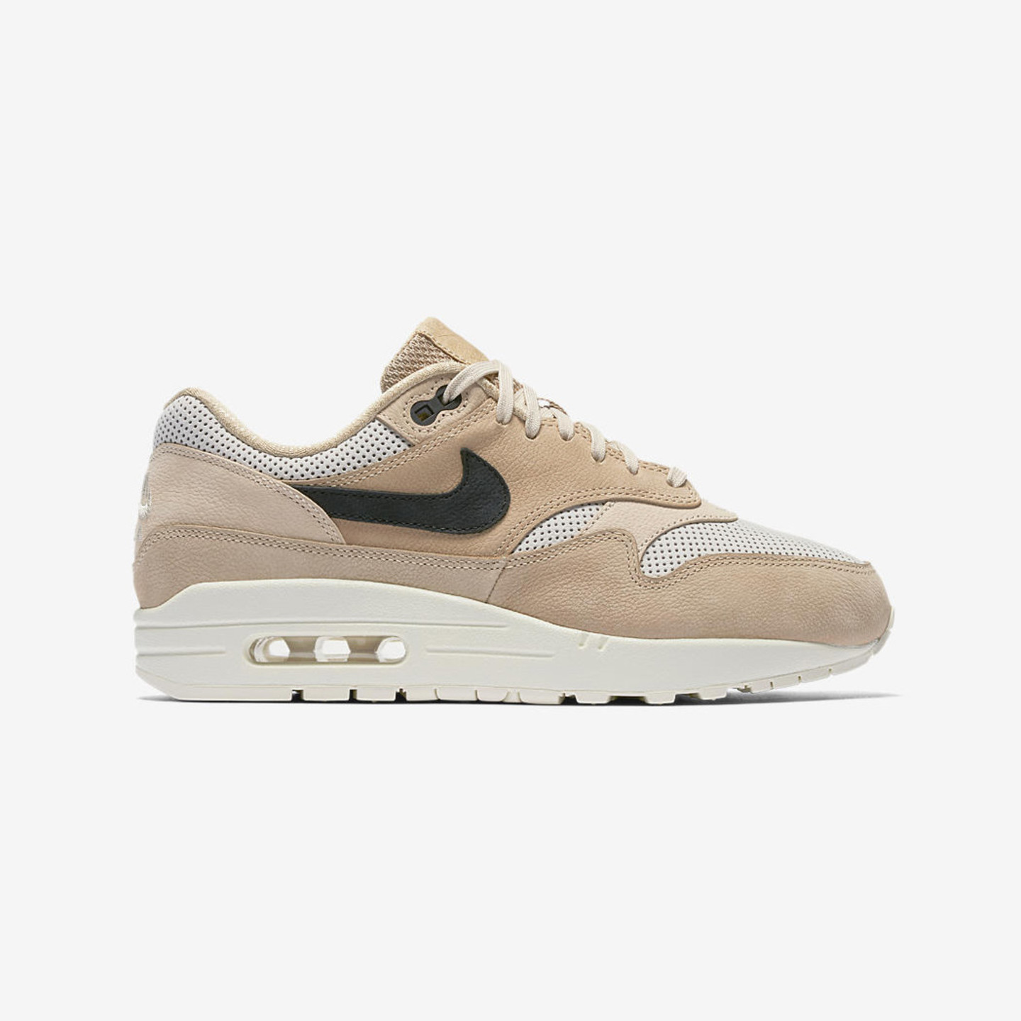 Nike Wmns Air Max 1 Pinnacle Mushroom / Black / Light Bone / Oatmeal 839608-201