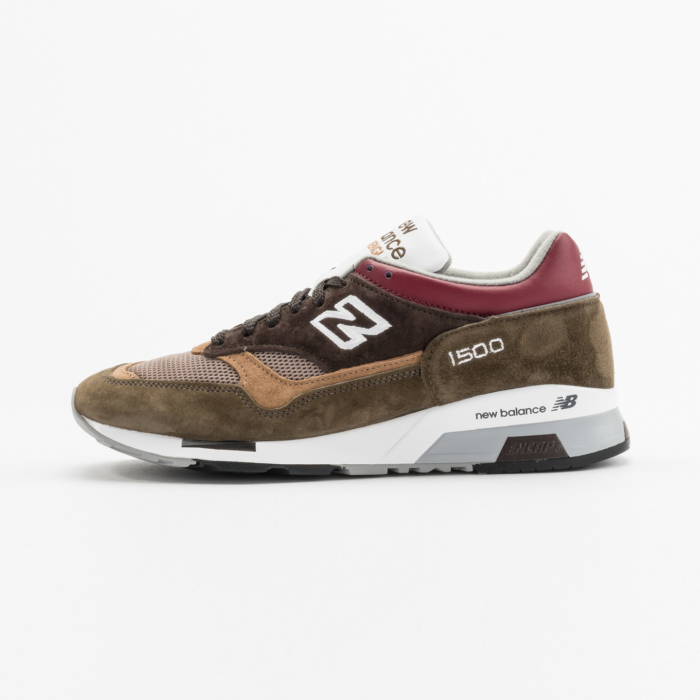New Balance M1500 CBG - Made in England Green / Brown / Bordeaux M1500CBG