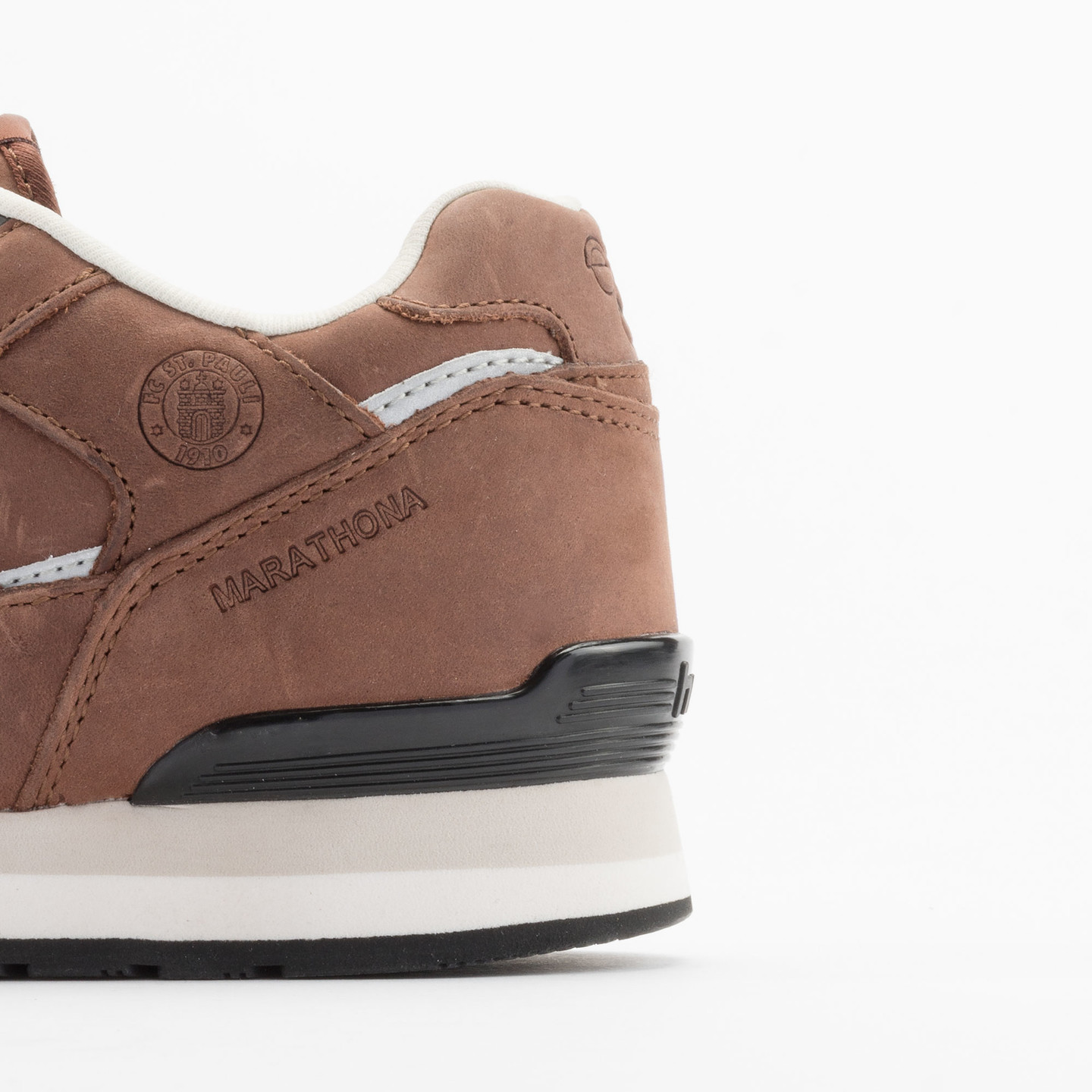 Hummel Marathona Low x St.Pauli Dark Brown 63-821-8225-43