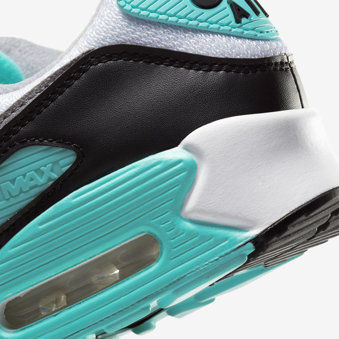 Nike Air Max 90 OG 'Fresh Mint' White / Particle Grey / Hyper Turq / Black CD0881-100