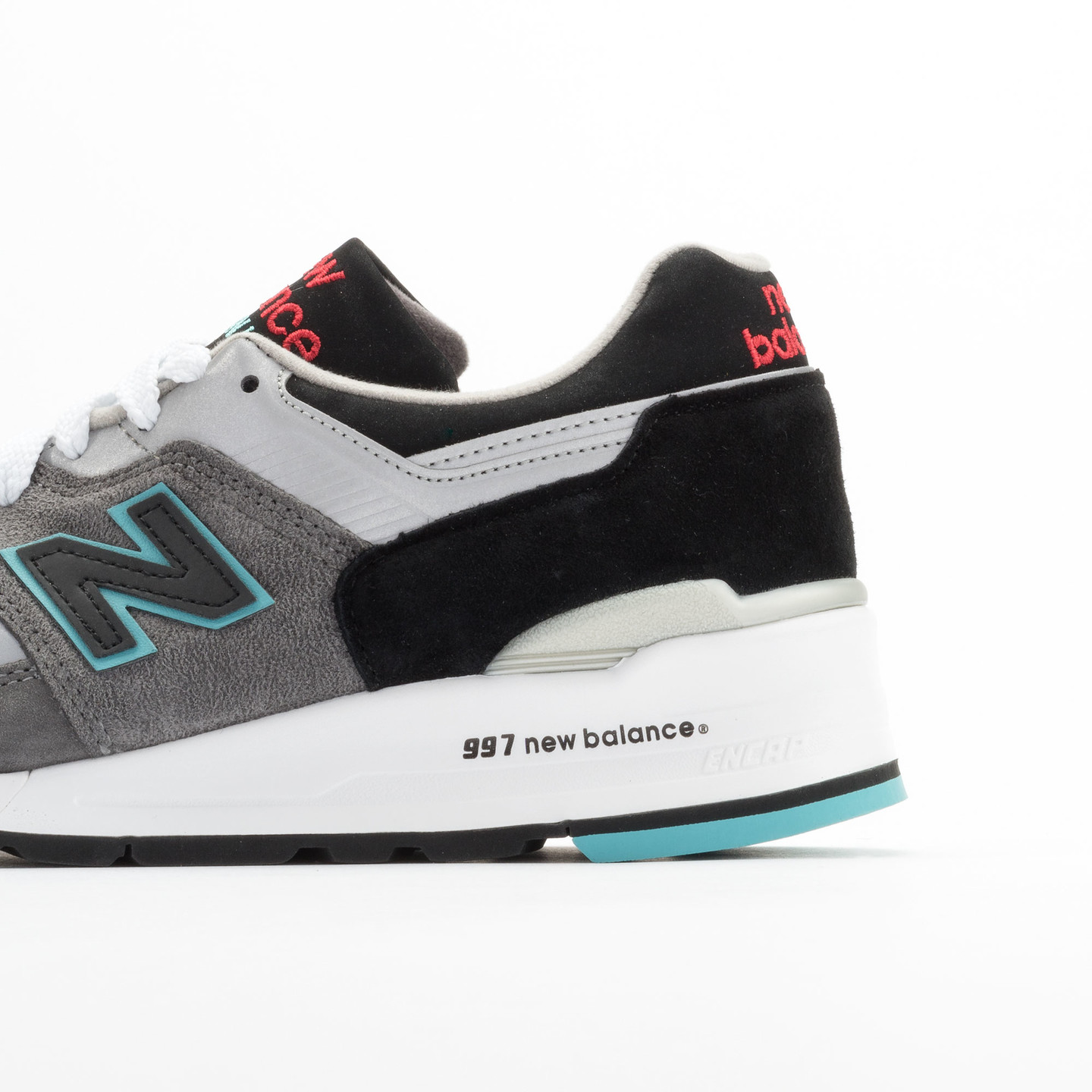 New Balance M997 Made in USA Grey / Black / Mint M997CGB-42