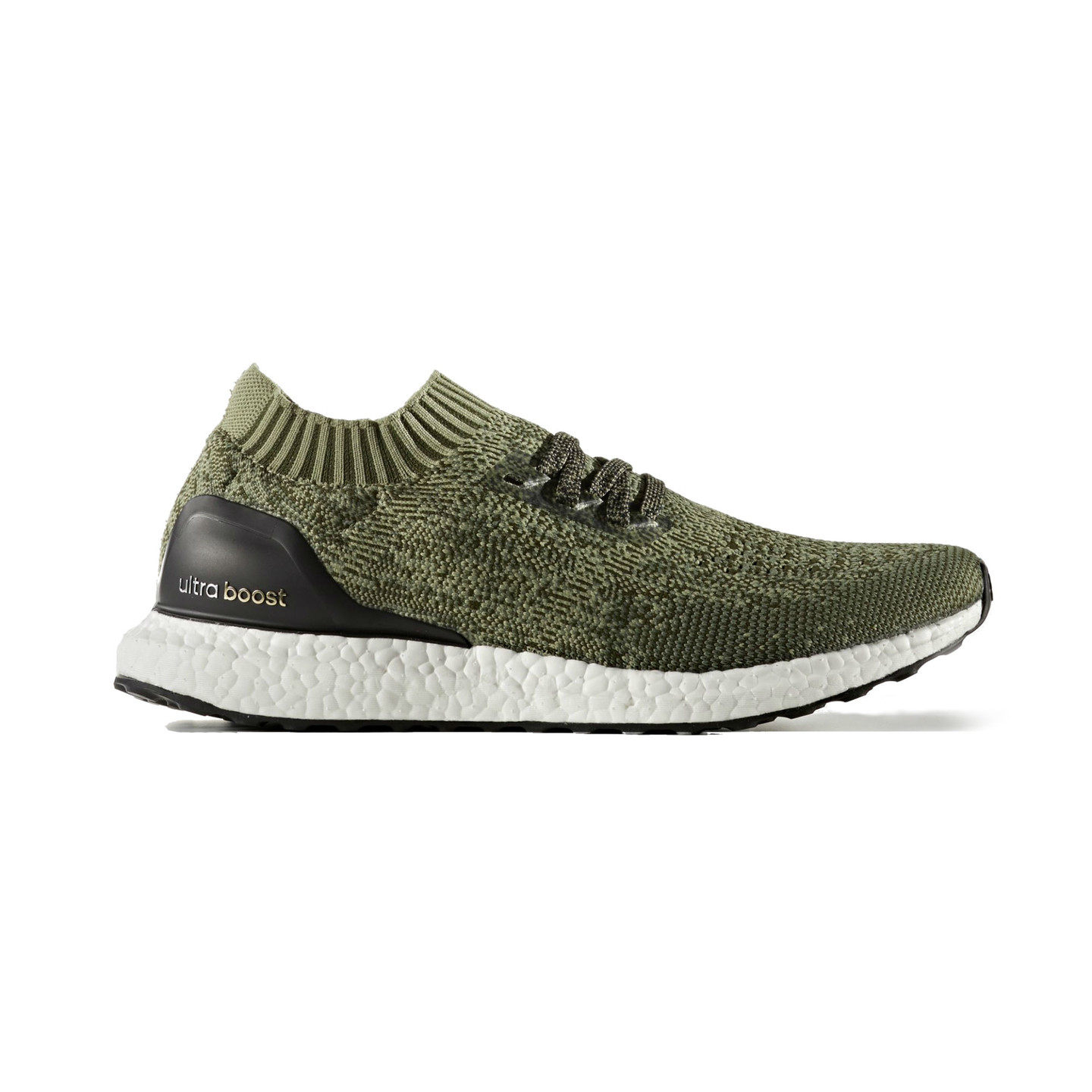 Adidas Ultra Boost Uncaged Base Green / Core Black BB3901-45.33