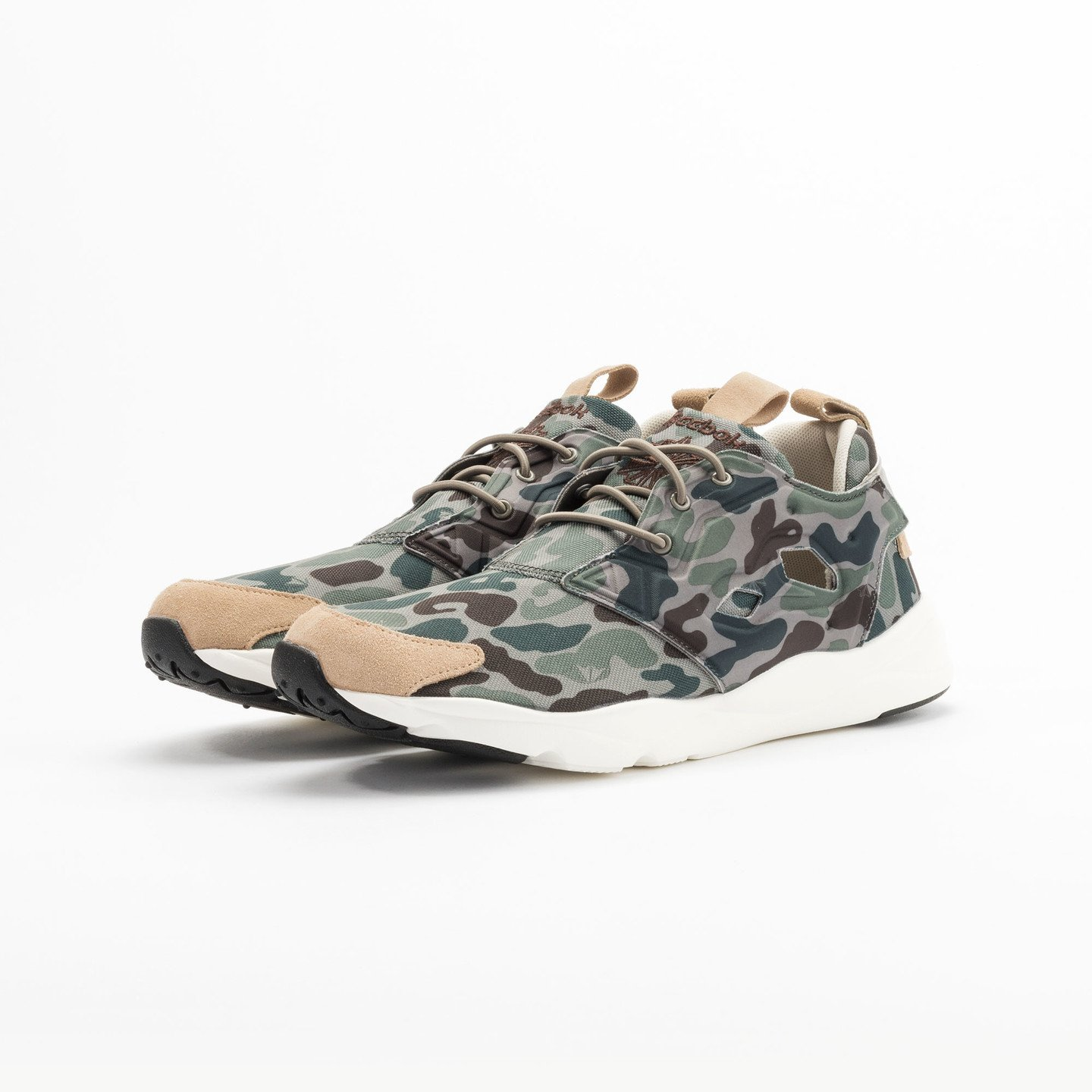 Reebok Furylite Camo Cement / Silvery Green / Sage V67089-43
