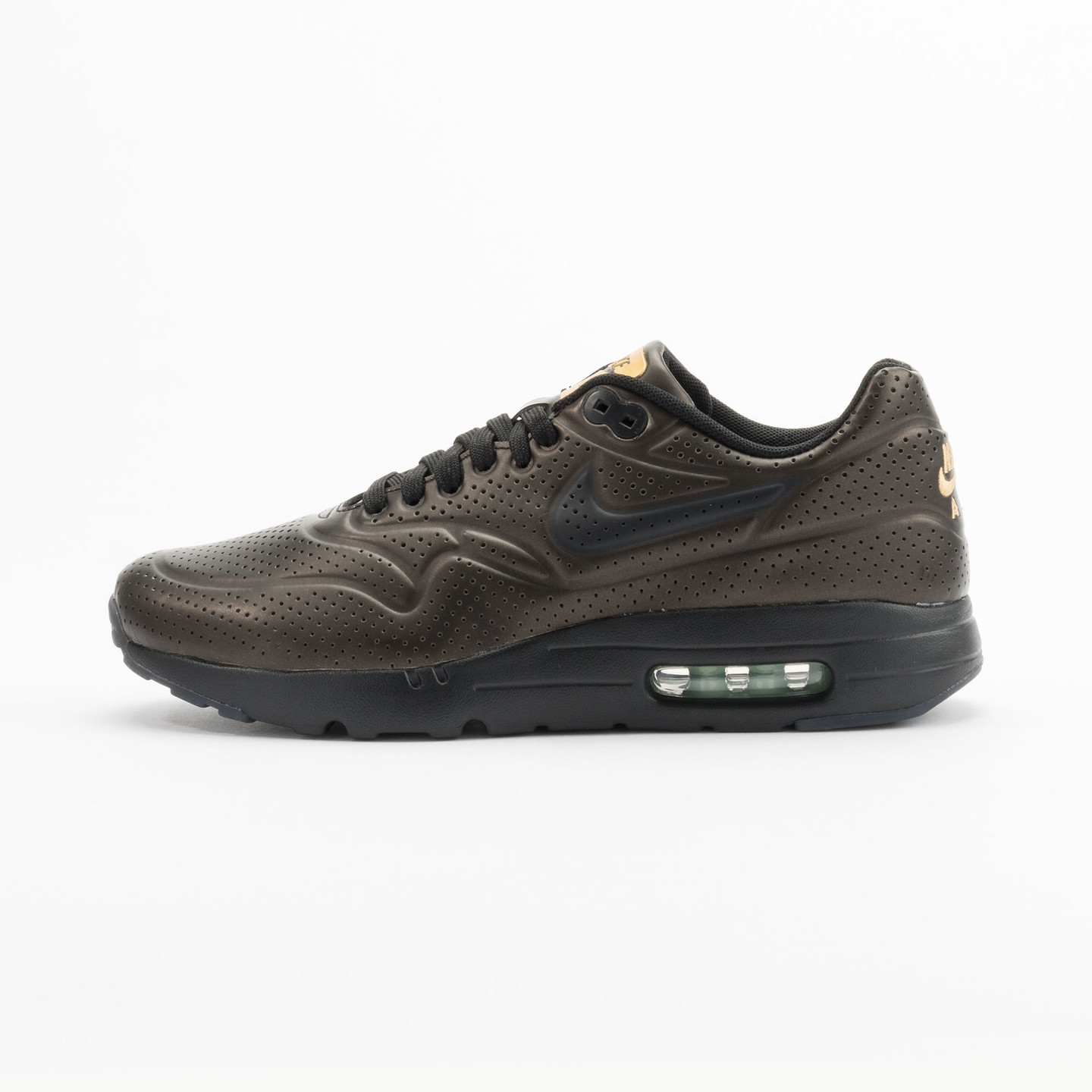 Nike Air Max 1 Ultra Moire Metallic Gold / Black 705297-700-40.5