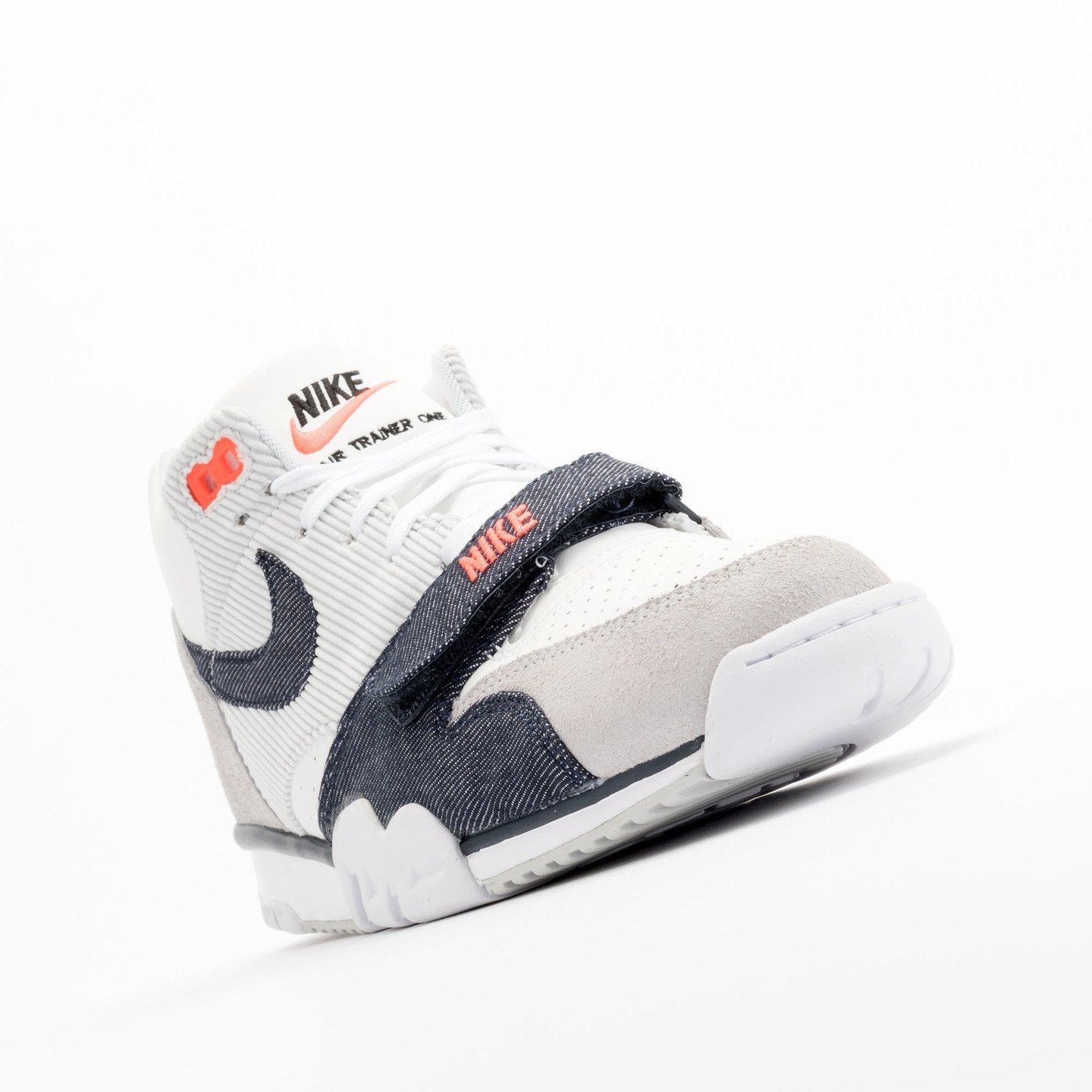Nike Air Trainer 1 Mid White / Obsidian / Pure Platinum 317554-103-46