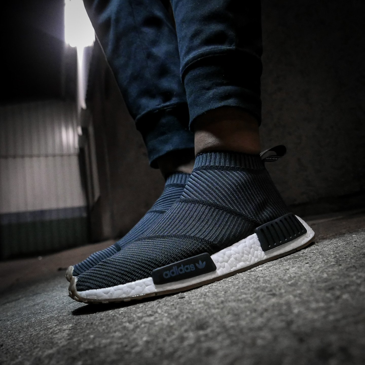 Adidas NMD CS1 City Sock Boost Primeknit Core Black / Gum BA7209-40