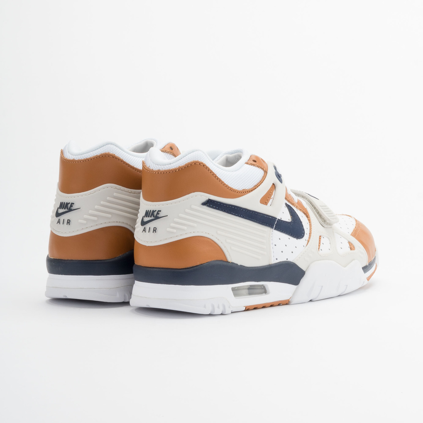 Nike Air Trainer 3 Premium Medicine Ball White/Mid Navy-Gngr-Lght Bn 705425-100-44.5