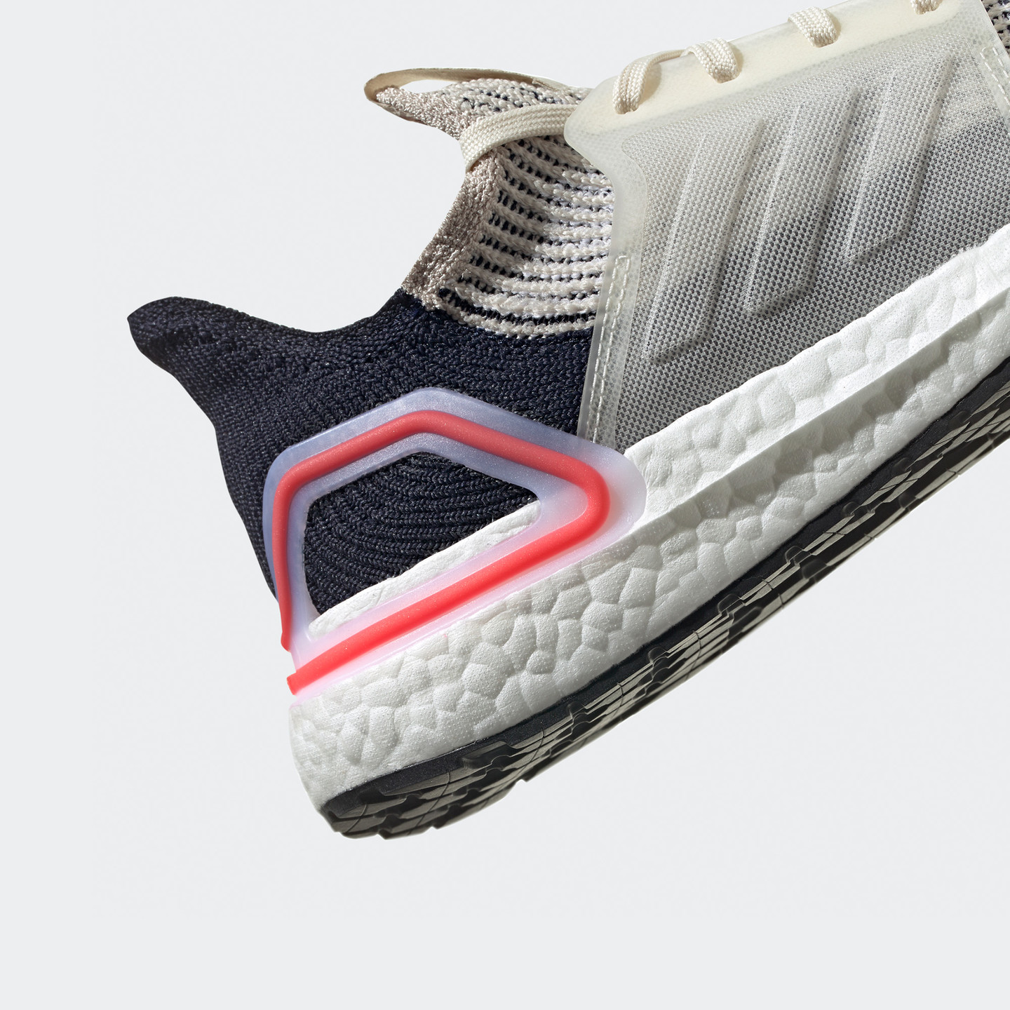 Adidas Ultra Boost 19 Beige / Navy / Safety Red B37705